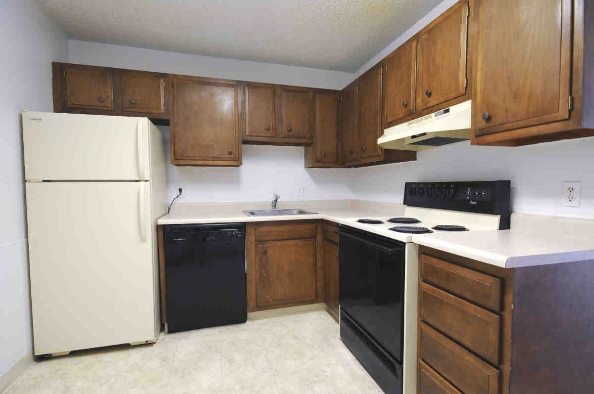 Kitchen Cabinets For Apartments a cook's dream kitchen - locust park apartments, loveland, co